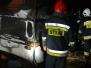 2018.03.11 Pożar przyczepy campingowej - Tuławki