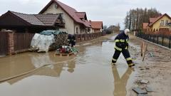2018.03.12 Pompowanie wody ul. Klenczona - Kieźliny