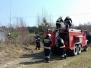 2019.04.06 Pożar trawy Dywity ul. Ługwałdzka