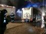 2019.10.17 Pożar kampera przy cmentarzu w Dywitach