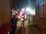 2019.12.14 Pożar w budynku Brąswałd